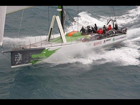 Volvo 70 Green Dragon Sailing 2015