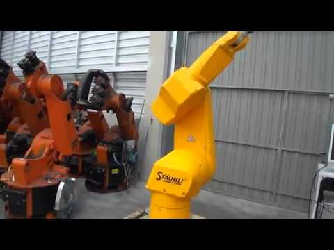 Used STAUBLI RX170B High Precision control CS8 Industrial robot