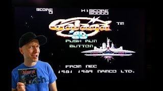 Galaga '90 (TG16) Speedrun - Dual ship start & Hard mode, Without dying