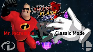 Super Smash Flash 2 BETA 1.0.3.2 (Classic Mode in Normal Mode using Mr. Incredible) *FIXED*