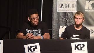 Kings Promotions Press Conference, Carto vs Melendez, September 27, 2017