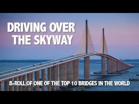 Sunshine Skyway Driving B-roll