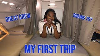 MY First Trip | FLIGHT ATTENDANT LIFESTYLE VLOG 10 | TheEKLifestyle