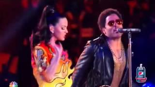 Katy Perry impresionó a todos con gran show en el Super Bowl