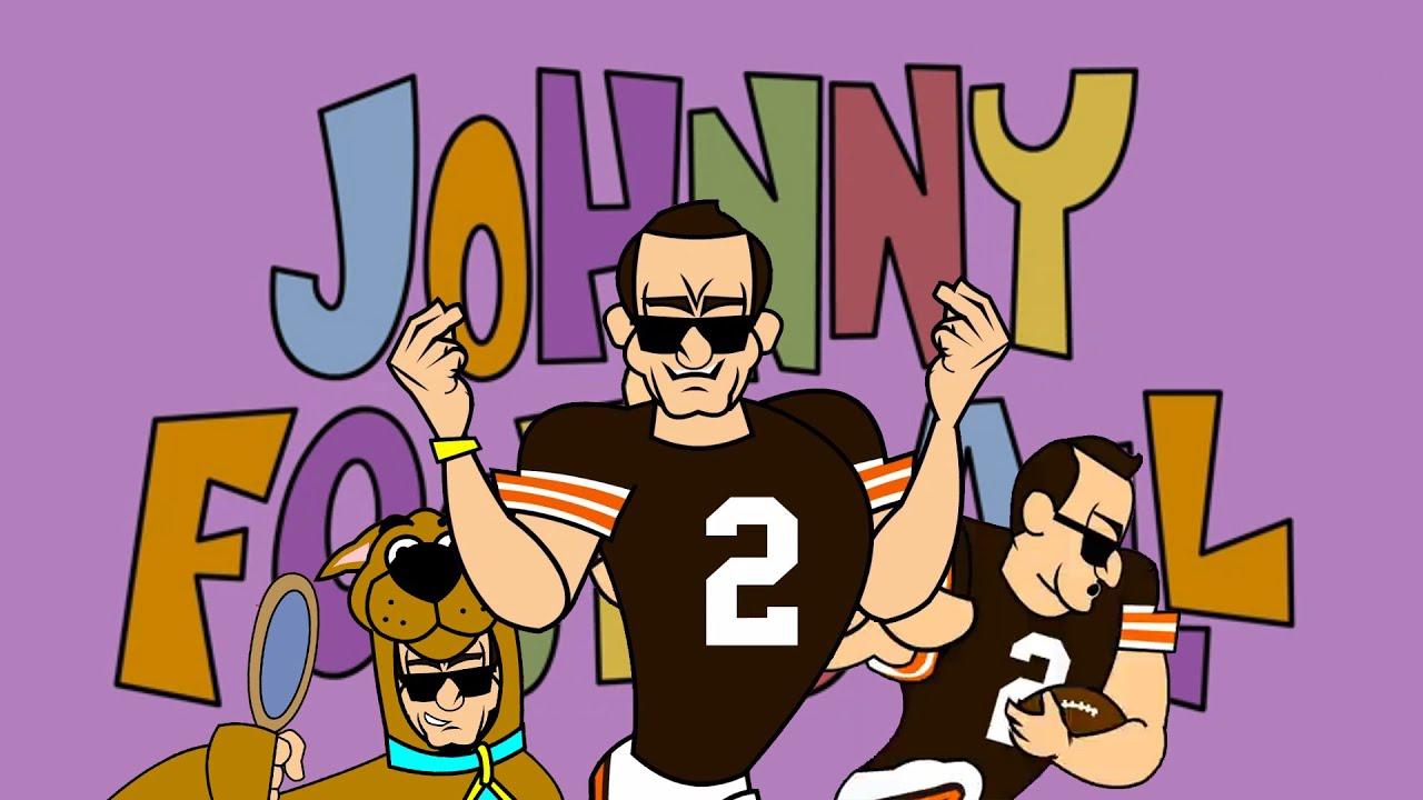 Johnny Bravo Headshot Johnny Manziel is Johnny Bravo