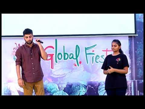 Kannala Kannala- Thani Oruvan | Live Performance | Kaushik Krish, Hip Hop Aadhi | Global Fiesta 2018