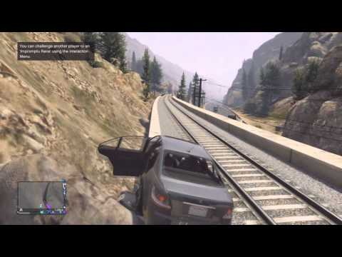 Grand Theft Auto 5 Online - Officer Speirs - Gimmie Dat Train
