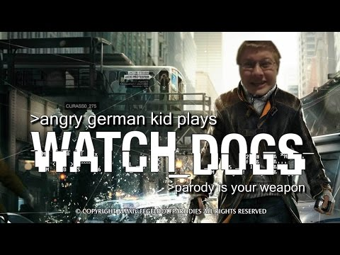 Angry German Kid Plays Watch Dogs video
