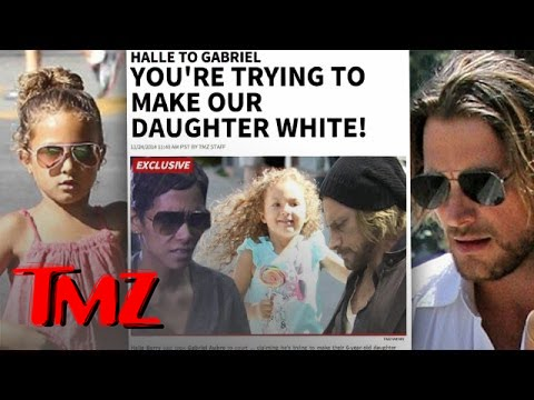 Halle Berry To Baby Daddy- Stop Straightening My Daughter's Hair!
