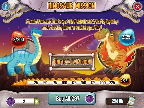 "Dragon City: ""HACK DE LA ISLA DINOSAURIO"" 2014 HD"