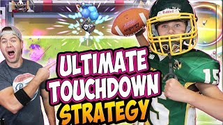 WE CAN'T LOSE the TOUCHDOWN CHALLENGE COSPLAY! BEST STRATEGY! BEST CARD