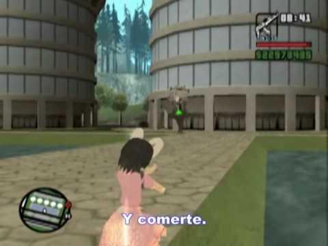 Loquendo GTA San andreas Inaba Tewi VS Gekko y Terminator