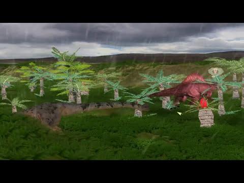 Dinosaur Battles - Brachiosaurus vs Spinosaurus | Jurassic Park : Operation Genesis