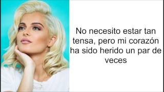 Bebe Rexha W/ Florida Georgia Line - Meant To Be (Letra En Español)