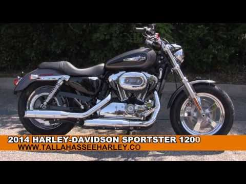 New 2014 Harley Davidson Sportster 1200 Custom Motorcycle for Sale - Tallahassee, FL