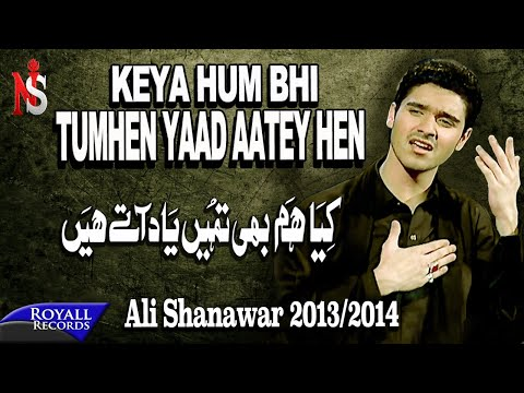 Ali Shanawar   Kya Hum Bhi Tumhein Yad Atey Hain   2013-2014   کیا ھم بھی تمھیں یاد اتے ھیں