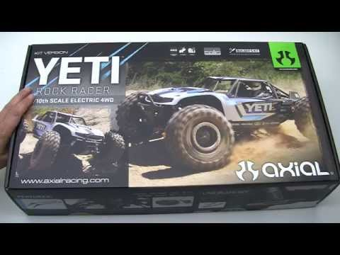 Axial Yeti Build Video #1