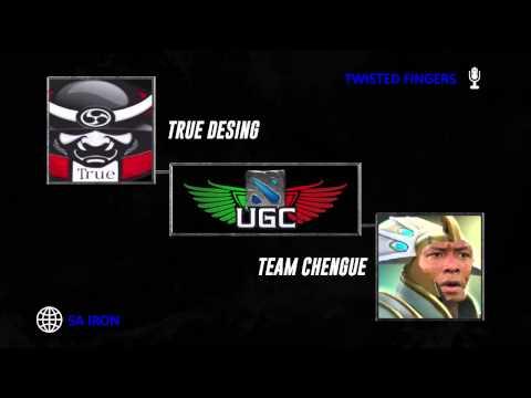 UGC Playoffs  - True Desing vs Team Chengue w/ Twisted Fingers - Overfeeder & BBT - 3 / 3