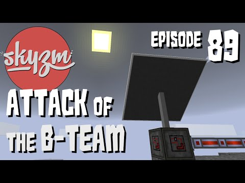 Minecraft: Attack of the B-Team! Advanced Space Power - E89