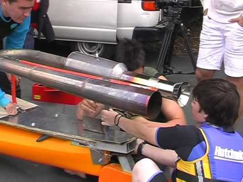 The pulsejet powered kayak (part 1)