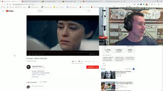 First Man (Neil Armstrong) - Trailer Reaction