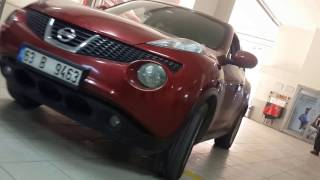 Nissan juke egzozsuz hali