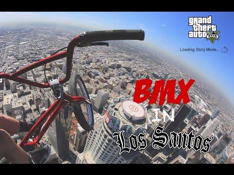 RIDING BMX IN LOS SANTOS!