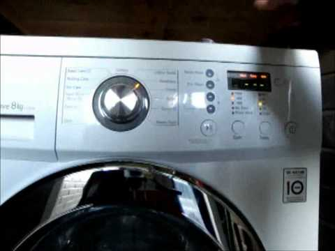 LG F1222TD inverter Direct Drive washing machine review