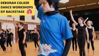 Deborah Colker Dance Workshops: Edinburgh International Festival Backstage