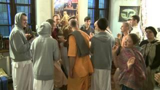 2012.11.08. Hare Krishna Kirtan HG SDA ISKCON Kaunas Lithuania