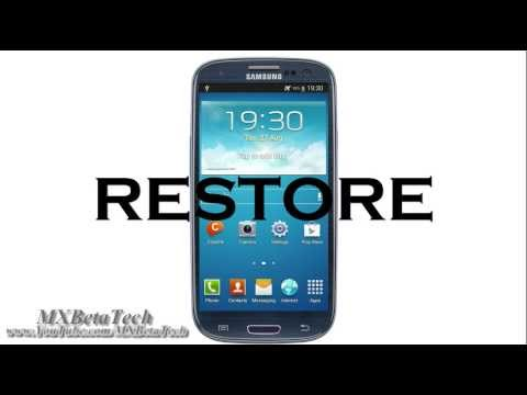 How to Backup & Restore EFS for Samsung Galaxy Family Smartphone