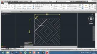 4-)Offset ve Trim / AutoCAD Education /