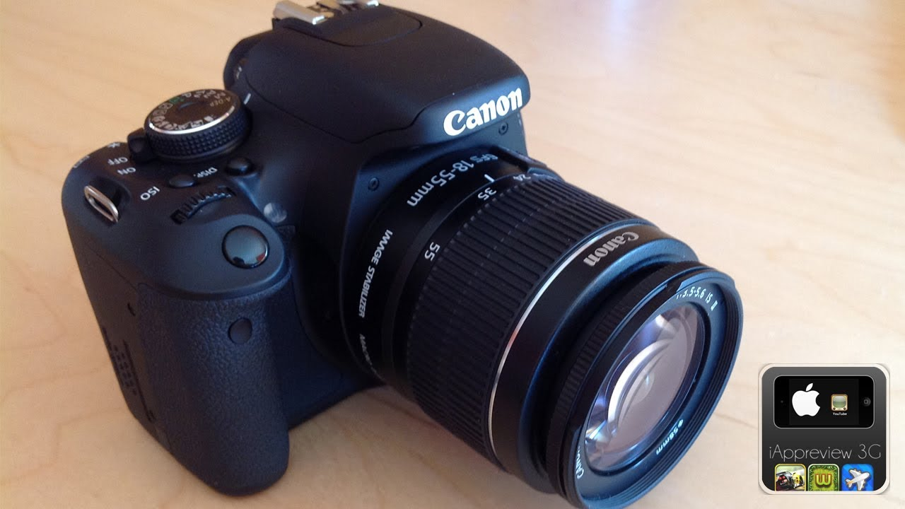Canon eos 600d review youtube for Housse canon eos 600d