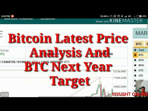 Bitcoin Price Update : 1 December 2017 And 2018 Price Prediction