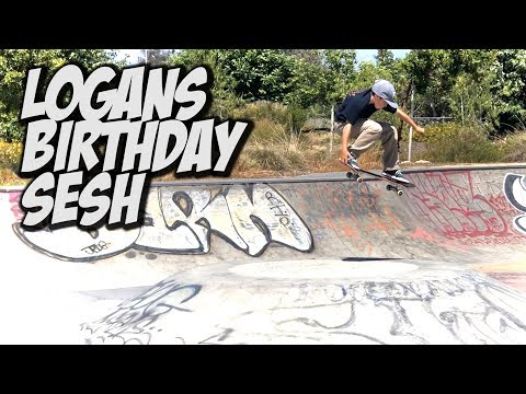 LOGANS BIRTHDAY SKATE SAFARI SESSION !!! - NKA VIDS -