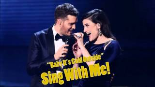 ♫ Baby It's Cold Outside ♫ 【IDINA MENZEL COVER】 Female Part Only