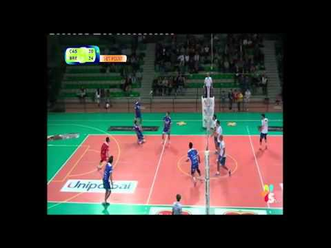 Serie A2 maschile - Castellana Grotte - Brescia 3-2