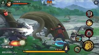 Madara vs hashirama | Naruto mobile | Gameplay