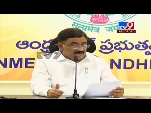 TDP Kalava Srinivasulu Press Meet LIVE    Vijayawada - TV9
