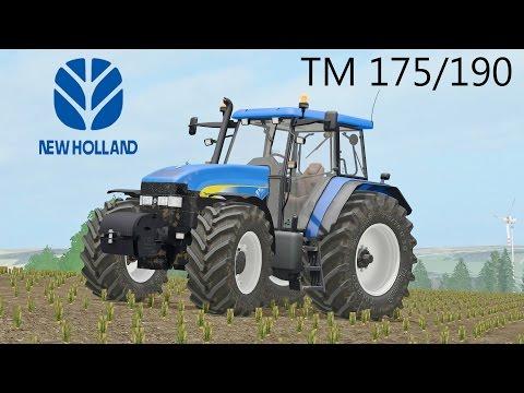 Farming Simulator 17 New Holland TM 175/190 By BJR & Marthu
