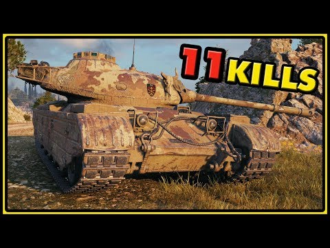 Progetto 46 - 11 Kills - World of Tanks Gameplay