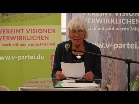 1/2: Barbara Rütting, R. Wegner: Welche politischen Zusammenhänge und Auswirkungen hat die Ernährung