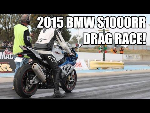 2015 BMW S1000RR Quarter Mile Drag Race!