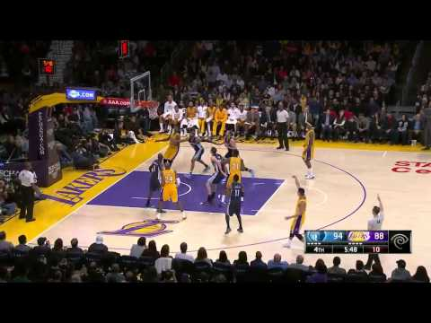 Memphis Grizzlies vs Los Angeles Lakers | January 2, 2014 | NBA 2014-15 Season