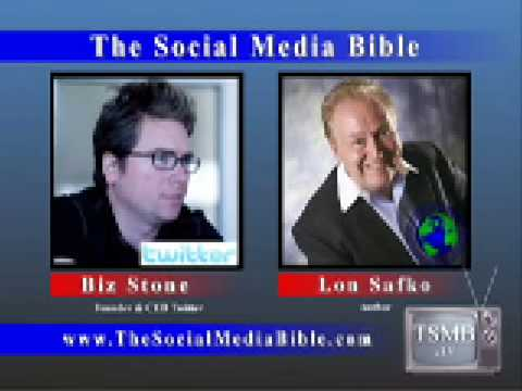 Biz Stone, Founder & CEO of Twitter & Lon Safko The Social Media Bible Interview
