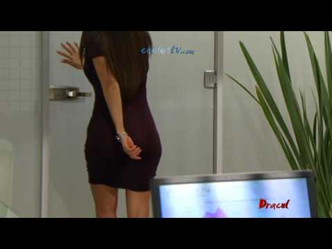 Mayrin Villanueva Sexy Vestido Morado HD