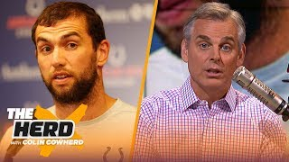 Colin Cowherd's full reaction to Andrew Luck's surprise retirement | NFL | THE HERD