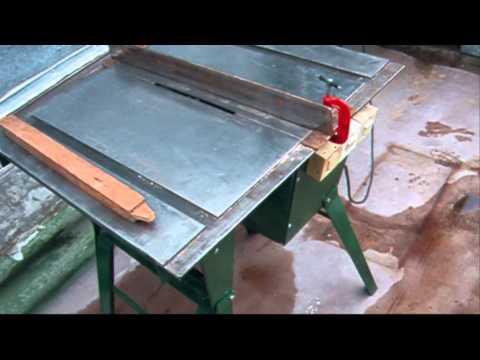Циркулярка с подвижным столом своими руками