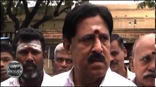 DMDK MLA Sundarrajan Questions DMDK Leader Vijaykanth - Dinamalar Jan Tamil Video