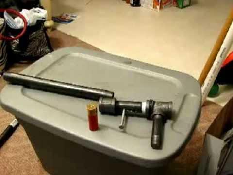 Fabrication maison fusil chasse 12 mm youtube - Comment fabriquer un pistolet ...